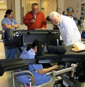 New orthopaedic surgery table now in use at Jones Memorial